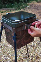 New Fox Spod Bucket Strap Lightweight & Compact Spod Station CTL006 - Fishing