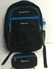 New Microsoft Ignite Conference Black Laptop Accessories Backpack 16
