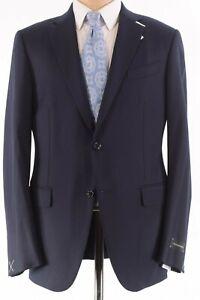 Ermenegildo Zegna NWT Sport Coat 52 42R US 10 Pocket Jacket Blazer Navy $2,895