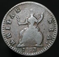 1773 | George III Farthing | Copper | Coins | KM Coins