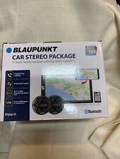 "BLAUPUNKT  7"" TOUCHSCREEN CAR STEREO W PAIR 6.5"" SPEAKERS MIRRORLINK"