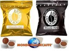 800 CAPSULE Caffè Borbone 400 ORO + 400 NERA compatibili Lavazza Esp. Point +KIT