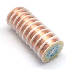 Fil de cuivre 0.3mm - couleur Or Rose Cuivre - Bobine de 20 mètres 20M Bijoux