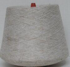 Polyester Silk Flax 7100 YPP Lace Thread WT Cone Yarn 2 Lbs 3 Oz Oatmeal (p24)