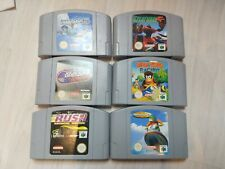 Nintendo 64 Spielesammlung Konvolut Paket N64 u.a. Lylat Wars, Diddy Kong