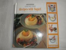 STEP-BY-STEP RECIPES WITH YOGURT HARDCOVER BOOK COOKERY