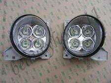 Set of 2 LED Halogen Lights For SCANIA R/P/G Series 24V/63W Daytime Running