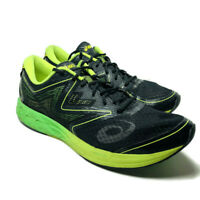 Asics Mens Noosa ff Running Shoes Size 13 Green Yellow Black Sneakers T722N
