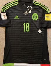 Adidas Authentic Mexico Home Black Adizero Player Issue Version Jersey Guardado