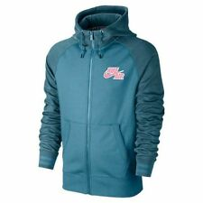 NIKE AIR AW77 Basketball Tech Full Zip Hoodie 612857-483 Mens Size Large