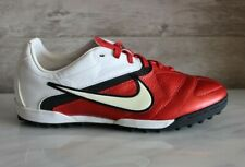 Nike CTR 360 Libretto TF Leather Red Soccer Cleats Turf Football Boots US-5 New