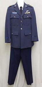 I Dream of Jeannie Major Nelson Blue Uniform Authentic Halloween Costume