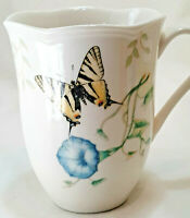 LENOX Butterfly Meadow Cup Mug SWALLOWTAIL 12 OZ Fine China for Coffee & Tea