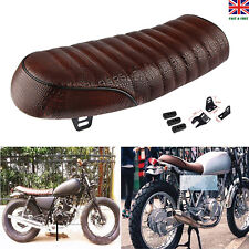 Black Retro Vintage Motorcycle Seat Saddle Cover Hump Cafe Racer for Honda GB