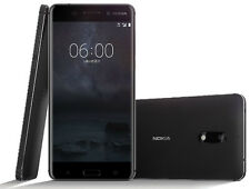 Nokia 6 TA-1003 64GB BLACK Dual SIM RAM 4GB ANDROID SMARTPHONE FACTORY UNLOCKED