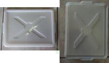 Coperchio per contenitore cassette service impasto palline pizza  misura 30 X 40