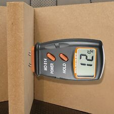 LCD Display Digital Wood Moisture Meter Humidity Tester w/ 4 Steel Sensor Pin US