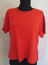 Mountain Lake Petite RED cotton T-shirt knit top PL *FREE SHIPPING* Nice