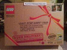 SDCC San Diego Comic Con Lego Star Wars 7958 2011 Advent Calendar New 335 / 1000