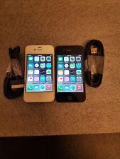 Apple iPhone 4s - 16GB - Black/White (Unlocked) A1387 (CDMA + GSM)
