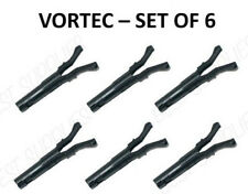 SET OF 6 VORTEC SPIDER INJECTOR SCPI RETAINER CLIPS 1996-2004 CHEVY GMC V6