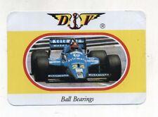 Adesivo Formula 1 OSELLA Dante Villa Ball Bearings F1 sponsor sticker anni 80 DV