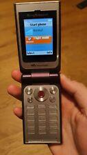 Sony Ericsson Walkman W380i - Purple Mobile Phone, box, accessories, working
