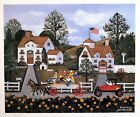 """Jane Wooster Scott Signed & Numbered L/ED Lithograph """" Road Rage """""""