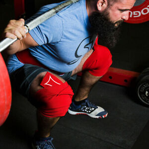 Sling Shot World Record Knee Wraps by Mark Bell - Power weight lifting supports!