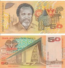 Papua Neuguinea / Papua New Guinea - 50 Kina 1989 UNC - Pick 11