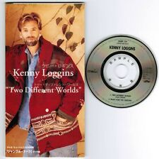 """Promo! KENNY LOGGINS Two Different Worlds JAPAN 3"""" CD BVDP-124 Unsnapped FREE SH"""