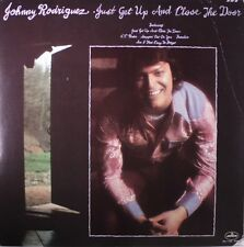 """JOHNNY RODRIGUEZ """"Just Get Up And Close The Door"""" NEW FACTORY SEALED 1975 LP"""