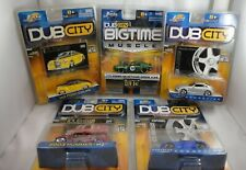 Jada - DUB CITY - 1:64 Scale Car Lot (Hummer/Mustang/Crossfire/Ford Coupe)