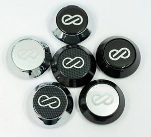 4pcs 65mm Auto Car Wheel Center Hub Caps for ENKEI Emblem Logo Auto for Audi
