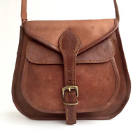 Soft Groovy Real Leather Satchel Messenger Cross Body Bag Limited Edition