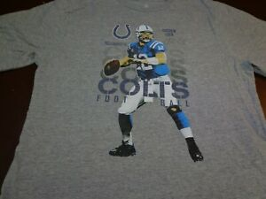 Indianapolis Colts Andrew Luck  NFL Team Apparel  T-shirt Youth 2XL  (18)  F37