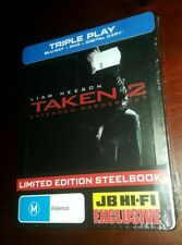 *New & Sealed* TAKEN 2 - Blu Ray + DVD Steelbook: JB Hi-Fi Exclusive Liam Neeson