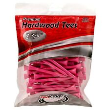 ProActive Sports 2 3/4-Inch Tees Pink, (100/Package)    (R4)