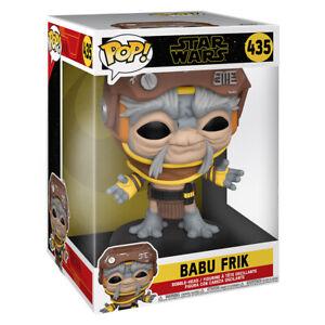"""POP! Star Wars Babu Frik Jumbo Bobble-Head Vinyl Figure #435 10"""" Tall from Funko"""