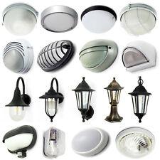 LED IP54 E27 Fassung Laterne Wandlampen Wandleuchten Aussen (einige mit SENSOR)