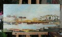 tableau huile /toile  - paysage - signée Coste