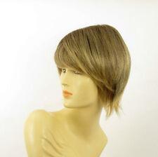 short wig for women brown wick golden ref VALERIA 6t24b PERUK