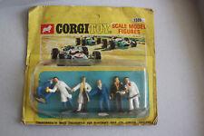 Rare CORGI TOYS 1505 Garage attendants Blister de 6 figurines