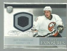 2006-07 Be A Player Portraits First Exposures #FEJT Jeff Tambellini (ref50112)