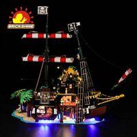 Led Light Kit for Lego Pirates of Barracuda Bay 21322(100% Rating Seller)