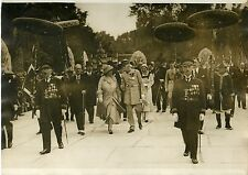"""LA REINE DE HOLLANDE EXPOSITION COLONIALE 1931"" Photo orig. G. DEVRED/ Agce ROL"