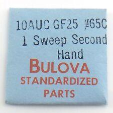 Genuine Bulova Parts 10AUC GF25 #65C 1 One Sweep Second Hand Sealed I594