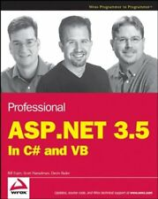 Professional ASP.NET 3.5: in C# and VB (Programmer to Programmer),Bill Evjen, S