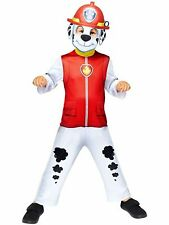 Childs Classic Marshall Costume PAW PATROL Costume Bambini Cartone Animato Cane pompiere