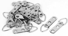 50lbs Triangle D-Ring Strap Hanger Hangers Picture Frame Hanging 50 w/ Screws